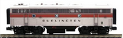 Pre-order for MTH Premier  CB&Q (burlington)  F-7B, 2 rail, non-powered