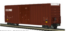Pre-order for MTH Premier NS  50' Hy-cube box car, 3 rail