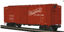 Pre-order for MTH Premier GM&O (rebel route) ARA  40' box car, 3 rail