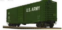 Pre-order for MTH Premier US Army PS-1  50' box car, 3 rail