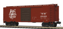 Pre-order for MTH Premier NH (script) PS-1  40' box car, 3 rail