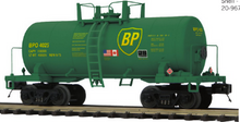 Pre-order for MTH Premier BP 34' Beer Can tank car, 3 rail