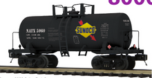 Pre-order for MTH Premier Sunoco 34' Beer Can tank car, 3 rail