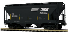 Pre-order for MTH Premier  NS 2 bay centerflow covered hopper car, 3 rail