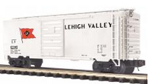 MTH Premier Lehigh Valley (white) 40' Box Car, 3 rail