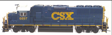 Atlas O CSX  GP-60,  3 rail,  non-powered