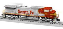 Lionel Legacy  Santa Fe (BNSF patch job) C44-9W diesel, 3 rail
