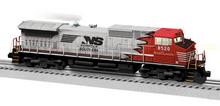 Lionel Legacy  NS (red/gray scheme) C44-9W diesel, 3 rail