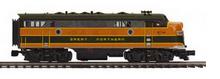 MTH Premier GN F-7A-B  diesels, 2 rail, w/Sound, exhaust, DCC,. proto 3.0