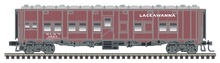 Pre-order Atlas O Lackawanna  MOW service converted  Troop Sleeper car, 3 rail or 2 rail