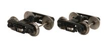 MTH 2 rail roller bearing diecast/sprung trucks  (Pair)