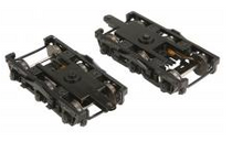 Pre-order for MTH 2 rail  diecast/sprung heavyweight passenger car trucks  (Pair)