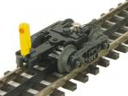 Pre-order for MTH 3 rail  diecast/sprung roller bearing freight car truck with blinking EOT device