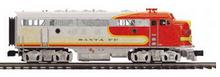 MTH Premier Santa Fe F-7A-B  diesels, 2 rail, w/Sound, exhaust, DCC,. proto 3.0