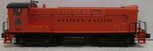 Weaver Western Pacific  VO 1000 diesel,  2 rail DC
