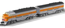 Lionel Legacy 38707 WP F-3 A-B diesels, 3 rail