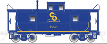 Pre-order for Atlas O C&O (blue/yellow) 1930's design Magor Steel cupola Caboose