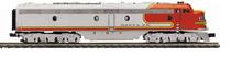 MTH Premier  Santa Fe E-8A-B  diesels (pwr/non-pwr), 3 rail, w/Sound and smoke. proto 3.0