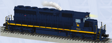 Pre-order for Lionel Legacy CNJ SD-40  diesel, 3 rail