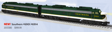 Pre-order for Lionel Legacy Southern Rwy E-8 A-A  diesels, 3 rail