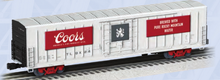 "Pre-order for Lionel O scale Coors  60'  Bunkerless reefer  ""Beer Car"", 3 rail,"