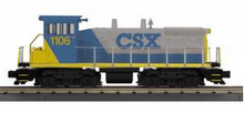 MTH Railking Scale CSX  SW1500 switcher, 3 rail, P3.0