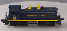 Williams C&O NW-2  diesel, 3 rail, horn and bell