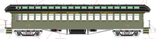 Pre-order for PDT EXCLUSIVE  MTH Premier NYO&W  open vestibule 64' wood passenger coach, 3 rail or 2 rail