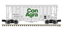 Pre-order for Atlas O Con Agra 40' single bay Airslide Covered Hopper, 3 rail or 2 rail