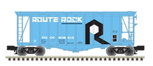 Pre-order for Atlas O RI (route rock) 40' single bay Airslide Covered Hopper, 3 rail or 2 rail