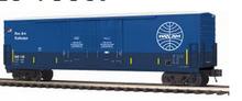 MTH Premier Pan Am Railways 50' double plug door Box car, 3 rail