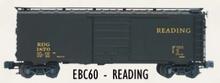 Weaver  Reading green express PS-1 40' box car, 3 rail or 2 rail