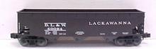 Weaver Lackawanna 3 bay offset hopper car, 3 rail or 2 rail