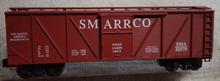 Weaver  SMARRCO outside braced (wood) box car, 3 rail or 2 rail