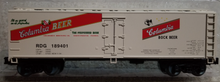 Weaver special run Columbia Beer reefer car, 3 or 2 rail