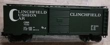 Weaver special run Clinchfield (Dark green) 40' PS-1 box car, 3 rail or 2 rail