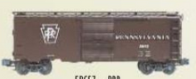 Weaver PRR Express (plain keystone) 40' PS-1 box car, 3 rail or 2 rail