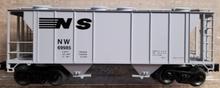 Weaver NS (NW) 34' PS-2 covered hopper car, 3 rail or 2 rail