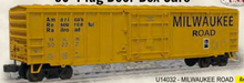 Weaver MILW  50' plug  door box car, 3 rail or 2 rail