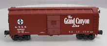 "MTH Premier Santa Fe 40'  ""Grand Canyon"" AAR Box car, 3 rail"