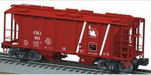 Lionel CNJ  34'  PS-2  covered hopper car, 3 rail