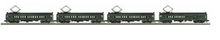 MTH Railking Scale  Reading  MU 4  car set, 3 rail, P2.0