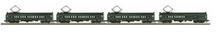 MTH Railking Scale  Reading  MU 4  car set, 3 rail, P2.0