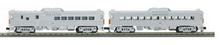MTH Railking Semi-scale New Haven Budd RDC 2 car non-powered set, 3 rail