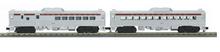 MTH Railking Semi-scale Susquehanna Budd RDC 2 car non-powered set, 3 rail