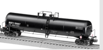 Lionel ACFX 30,000 gallon ethanol tank car,  3 rail