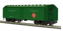 MTH Premier Santa Fe (REA scheme)  R50B express  reefer , 3 rail