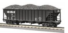 MTH Premier NS 4-Bay  Hopper w/Coal Load, 3 rail