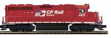 MTH Premier CP Rail GP-40, 3 rail, P2.0