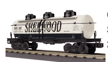 MTH Railking  Sherwood 3 dome  Tank Car, 3 rail